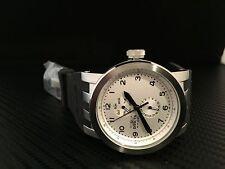 Invicta Men's 10389 DNA Vintage White Dial Black Silicone Watch
