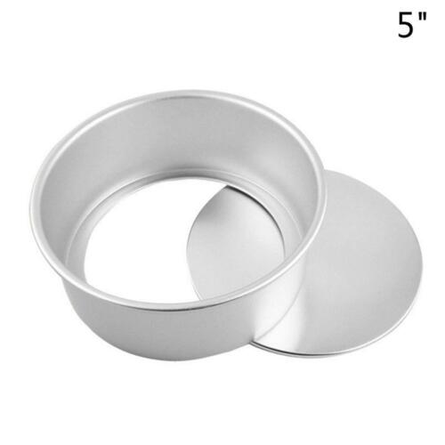 Non Stick Aluminum  Round Cake Baking Tin Tray Pan Cake Mold Bakeware