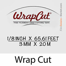 """WrapCut"" 20m,-faden coupe vinylfolie,klebstoff,abdeckung,wrap,Glühfaden Band"