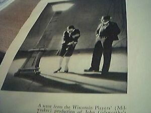 picture 1930 theatre  wisconsin players john galsworthy escape - <span itemprop=availableAtOrFrom>Leicester, United Kingdom</span> - Returns accepted Most purchases from business sellers are protected by the Consumer Contract Regulations 2013 which give you the right to cancel the purchase within 14 days after the da - Leicester, United Kingdom