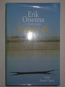 Madame-Ba-de-Erik-Orsenna-Fayard-Stock-Grand-format-broche-2003-Soninkes