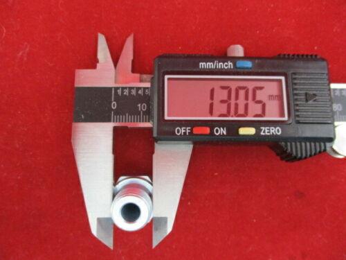 """Einschraubnippel Nippel 1//4/""""x SR 8 LLR Ölschlauch Danfoss Suntec Ölpumpe MAN"""