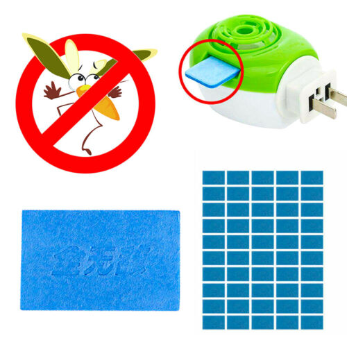 50 x Mosquito Insect Repellent Tablets Replacement Plug in Adaptor Mats