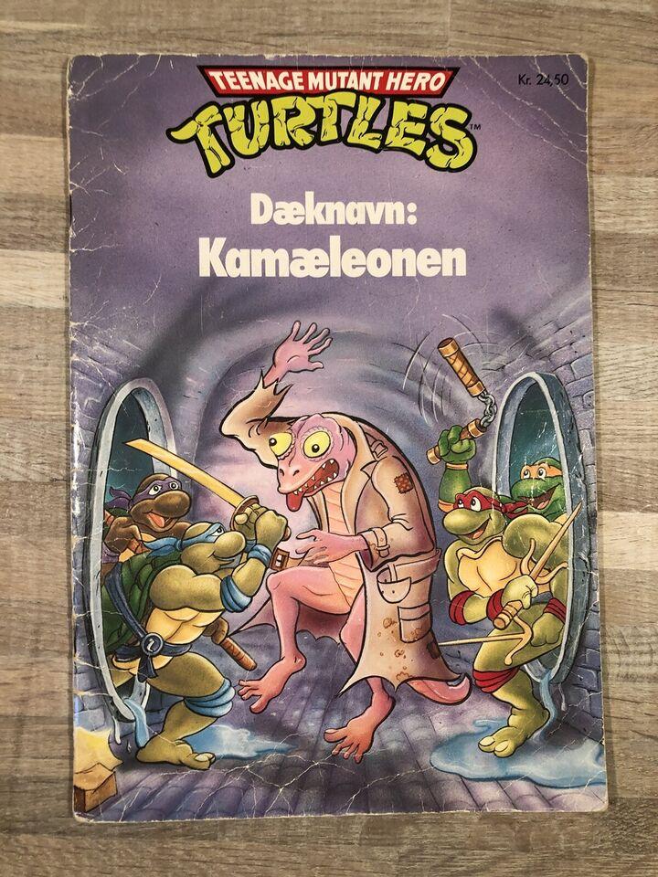 [Turtles] Dæknavn: Kamæleon [1991], Tegneserie