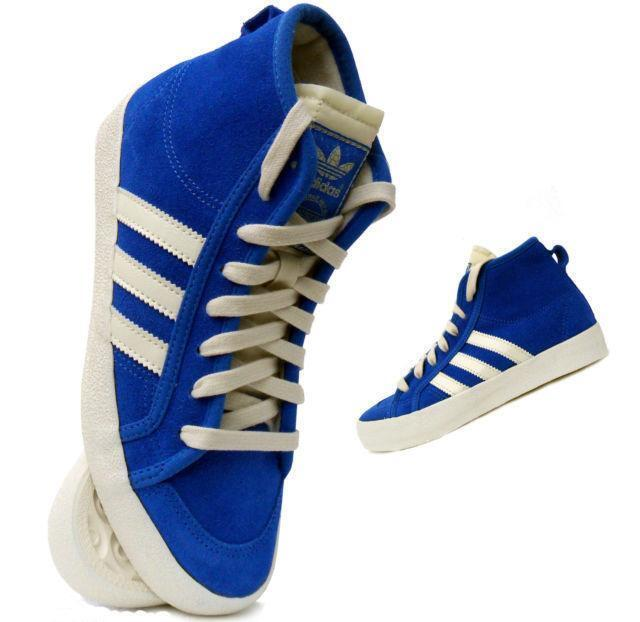 Damen Adidas Honigfarbene Mitte UK blau Wildleder Turnschuhe G64244 UK Mitte 4.5/EUR 37 ae2149
