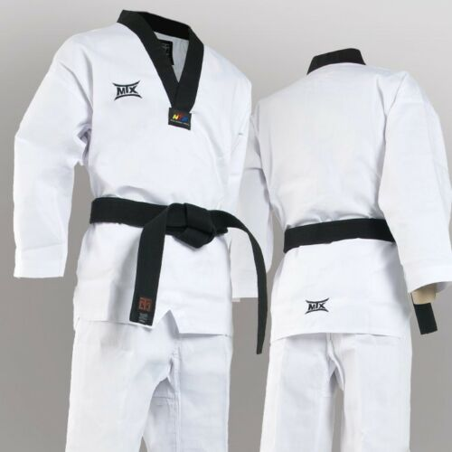 Mooto MTX Basic Uniform Taekwondo Dan Dobok WTF Tae Kwon Do Korea TKD
