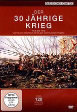 DER 30 JÄHRIGE KRIEG 1618 - 1648 Hunger Pest & Mord PRAGER FENSTERSTURZ DVD Neu