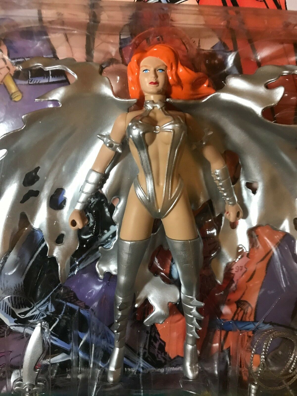Hellina Action Figure Set of of of 4 - Skybolt Platinum, gold, Pewter NEW a5cd65