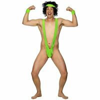 Official Borat Mankini - Mens Stag Night Comedy Funny Thong Fancy Dress Costume