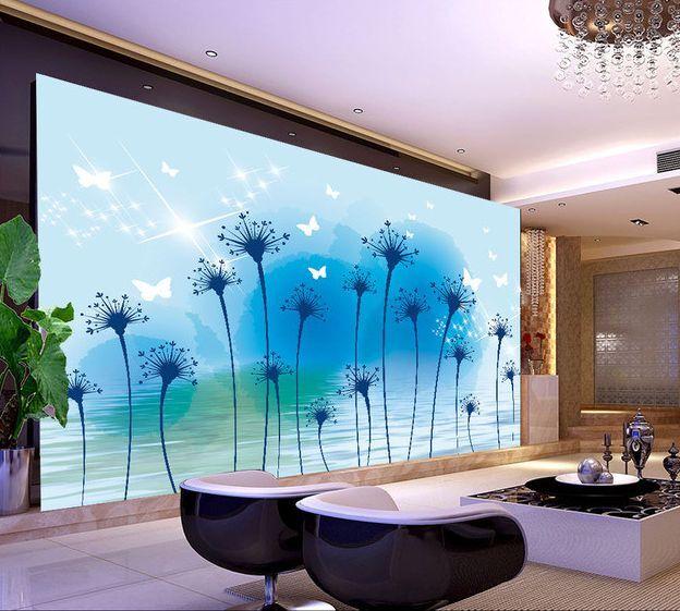 3D Fiori allungati 334 Parete Murale Carta da parati immagine sfondo muro stampa