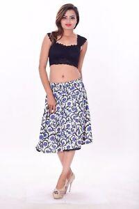 5dfcb49b42b Indian 100% cotton Women s Hippie elastic Elastic mini Short Skirt ...