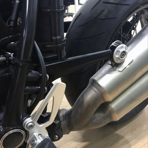CNC Exhaust Muffler Pipe Bracket Mount Holder for 2014-18 15 16 BMW R Nine T R9T
