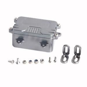 Metal-Ricevitore-Scatola-Esc-Scatola-per-1-10-Rc-Crawler-Car-Axial-Scx10-Rc-N4D2