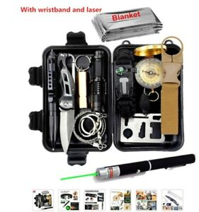Essential Survival Kit, Use Camping, Boating, Fishing, Hiking etc