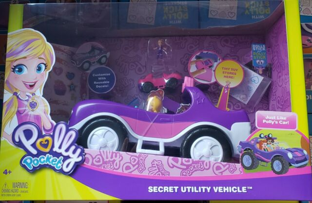 Polly Pocket Adventure SUV Secret Utility Vehicle