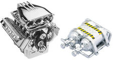 V8 Engine & Chrome NOS Combo, 1/10, SCX10, Traxxas, Axial, Tamiya, HPI, Crawler