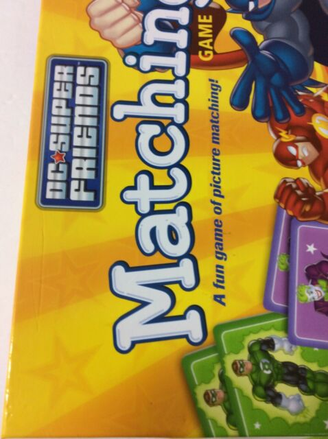 Wonder Forge DC Super Friends Matching Game NEW