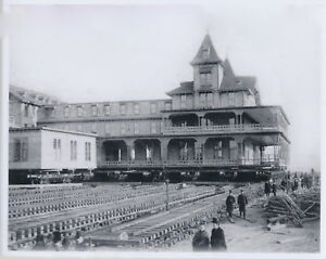 Image Is Loading Moving Brighton Beach Hotel Reprint 1888 Photo Gravesend
