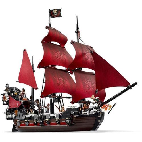 1151 Pc Queen Anne/'s Revenge Ship Pirates Of The Caribbean Model Building Blocks