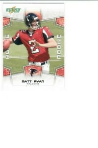 2008 Score Matt Ryan #333 Falcons ROOKIE CARD