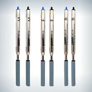 LAMY-Kugelschreiber-Minen-M16-Grossraumminen-Blau-Schwarz-M-F-B