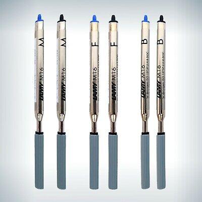 LAMY M 16 Kugelschreiber Großraummine Farbe und Stärke wählbar blau schwart rot