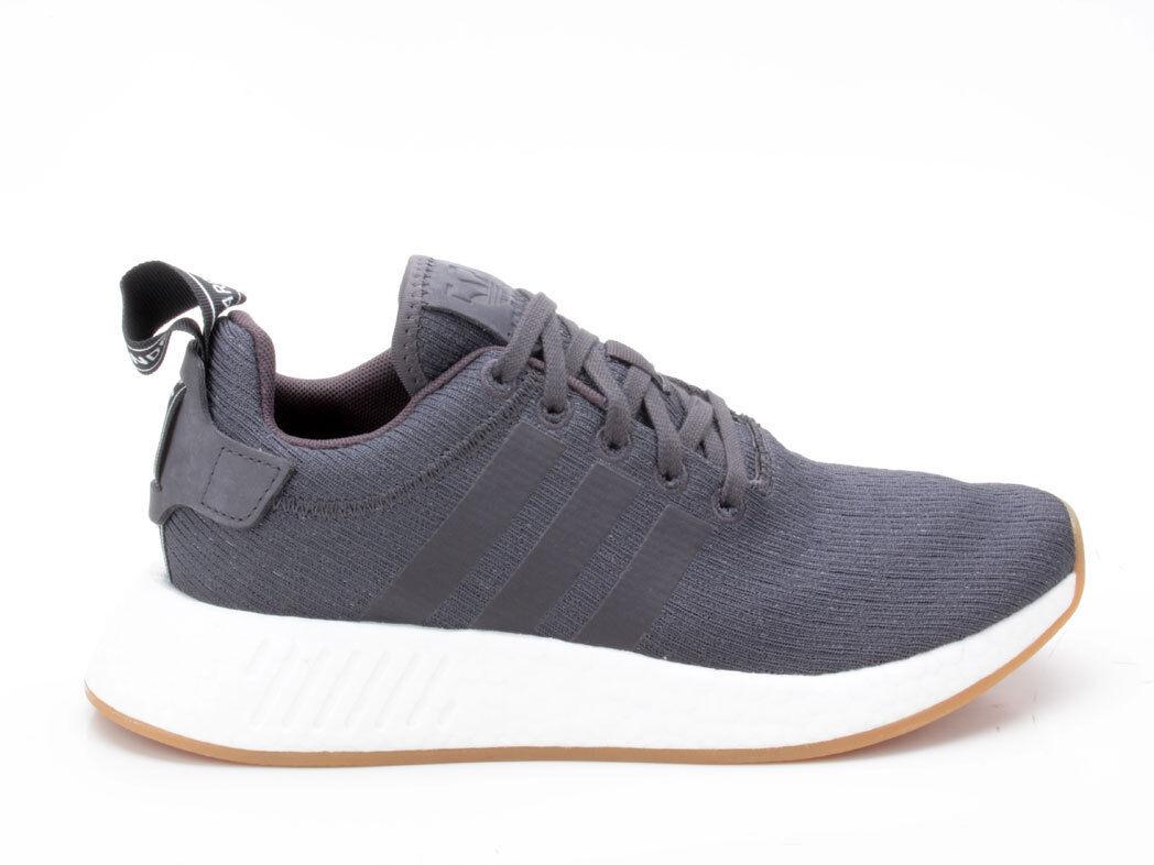 Adidas NMD_R2 Schuhe Unisex Originals Turnschuhe CQ2400 schwarz-weiß
