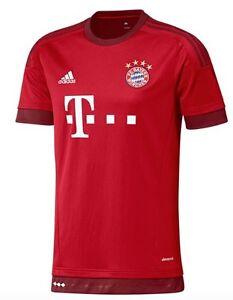 Adidas-FC-Bayern-Munchen-Heim-Maillot-2015-2016-Rouge