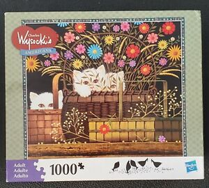 charles wysocki puzzles 1000 pieces Triple Trouble 2011 Pre-owned bagged