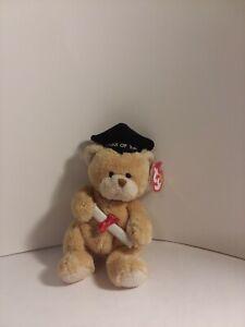 Ty Beanie Baby Scholar - UWT (Bear Graduation 2007)