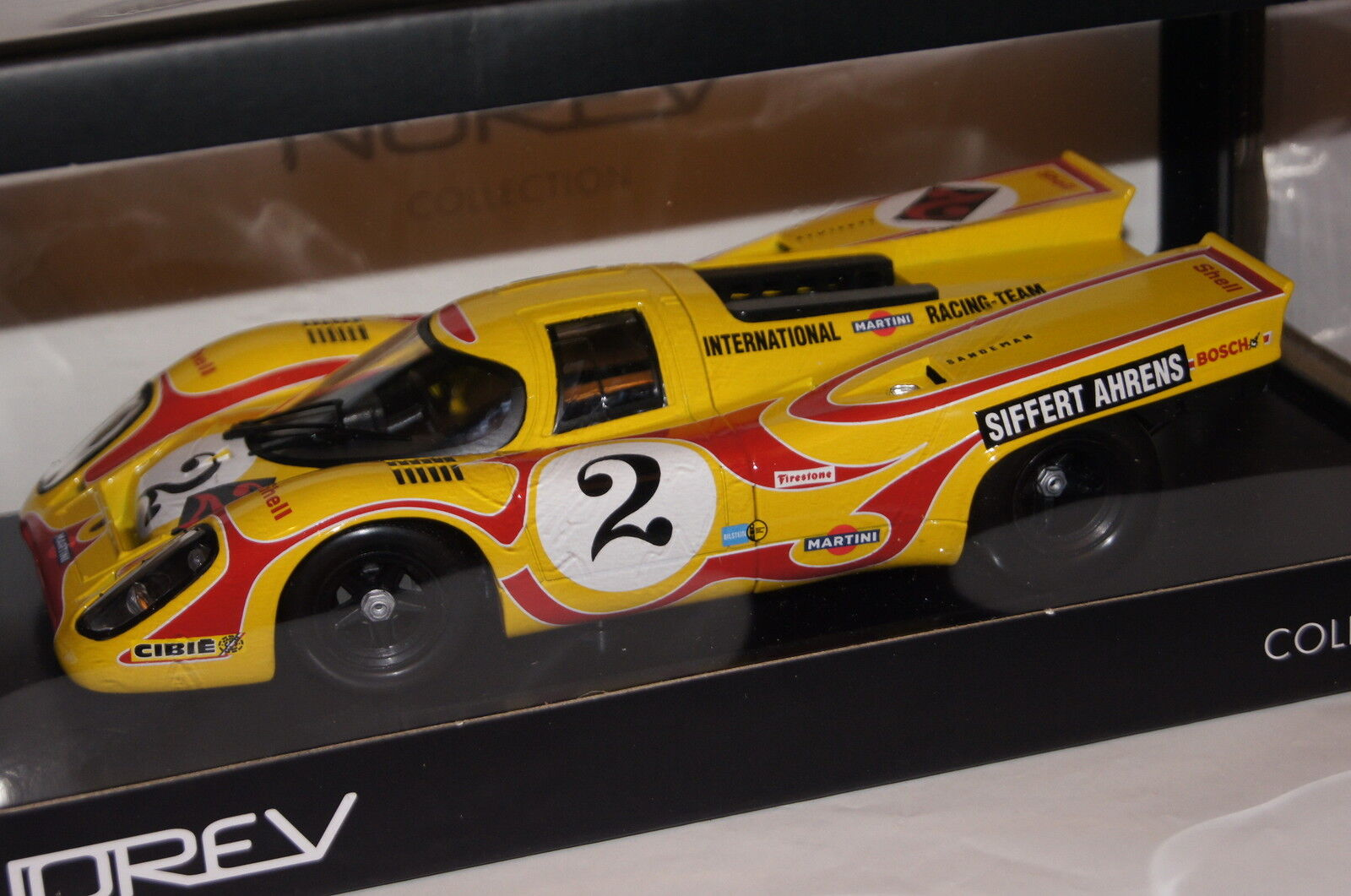 Porsche 917k  2 9h Kyalami 1970 siffert Ahrens 1 18 NOREV NOUVEAU & OVP 187581