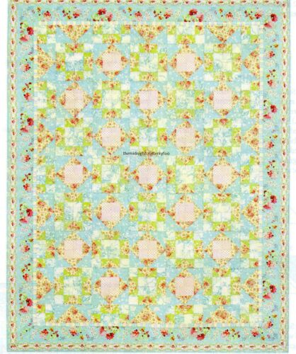 Girly Girl Quilt Pattern Pieced DS