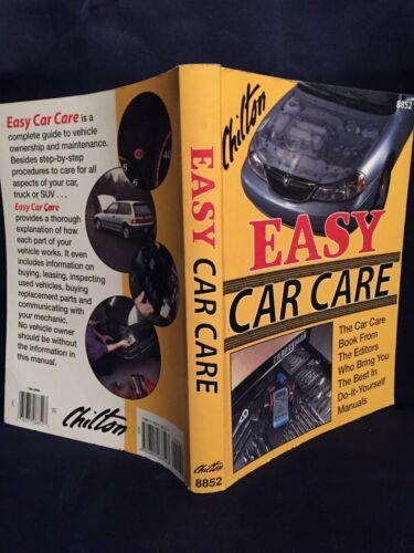 Chilton/'s Easy Car Care Guide 4th Edition 0801988527