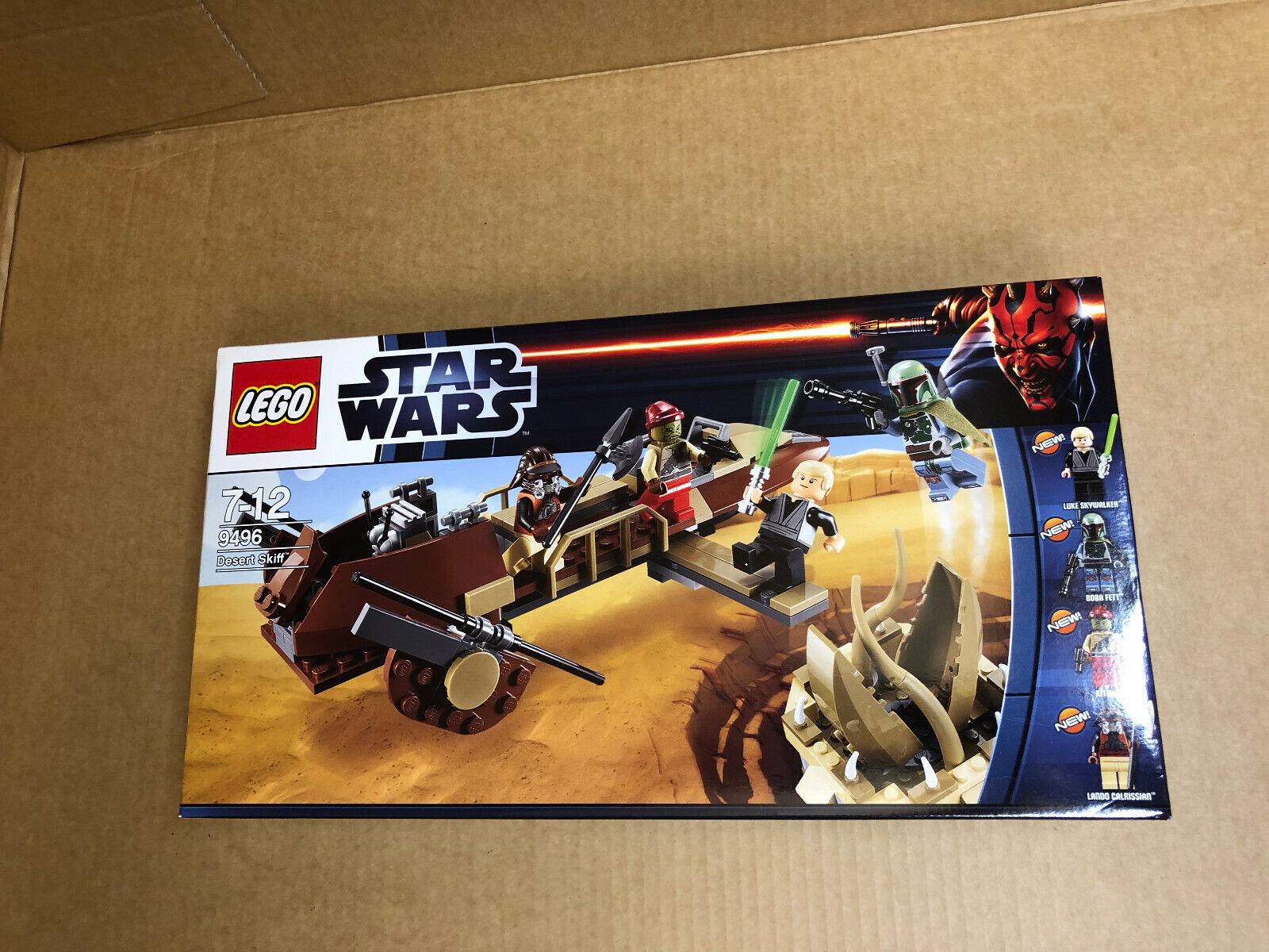 LEGO Star Wars 9496 Desert Skiff NUOVO IN SCATOLA ORIGINALE
