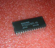TOSHIBA TC55257BPL-10L DIP-28 SILICON GATE CMOS