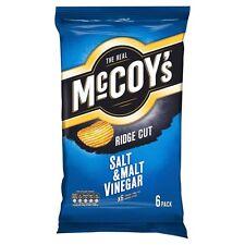Mccoys Salt & Vinegar Crisps 6 x 27g - Sold Worldwide from UK