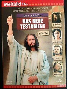 Weltbild-Die-Bible-the-New-Testament-4-Bibelfilme-Bible-Movies-4-DVD-Box-Set-New