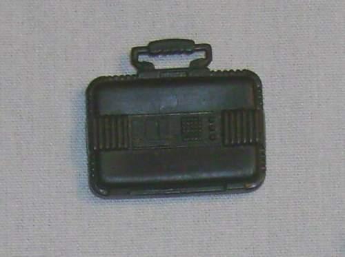 1990 SALVO mine v.1 CASE BRIEF Original Accessoire//ARME GI//G.I Joe Cobra JTC