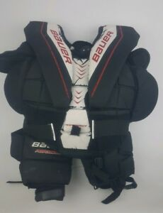 Details about Bauer Performance Hockey Chest Protector (1000665) SIZE: L  Youth Hockey Pads