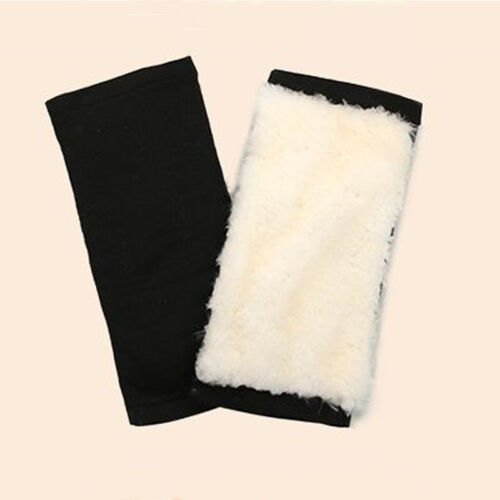 Sheepskin Wool Thermal Knee Joints Warmers Winter Arthritis Brace Pads Protector