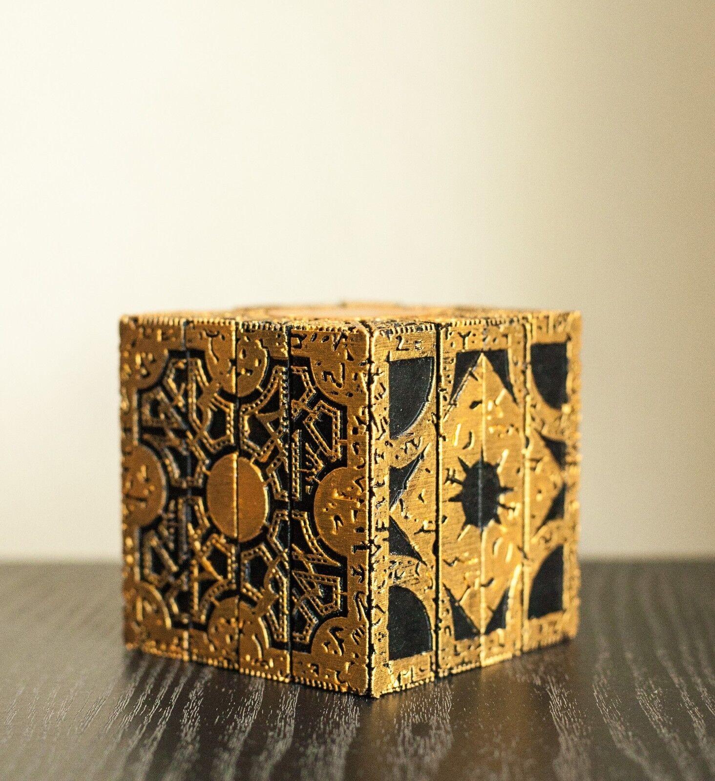 HELLRAISER puzzle box Lemarchand's box 3D Printed Lament Configuration Configuration Configuration gold f1b9eb