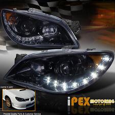 2006-2007 Subaru Impreza [Smoked Black] WRX STi LED DRL Projector Headlights