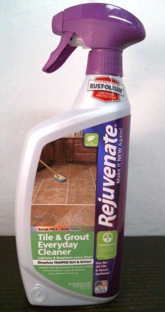 Rejuvenate Grout And Tile Cleaner 32 Oz For Sale Online Ebay