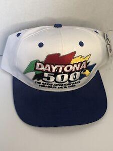 Vintage-Daytona-500-Snapback-Hat-The-Great-American-Race-1999-Cap-Nascar-NWT