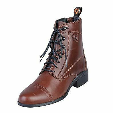 Ariat Heritage lll Lace Boots brown size EU 42.5 M UK 8 1/2 M paddock jodphur