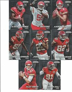 10098dfa 2014 KANSAS CITY CHIEFS 40 Card Lot w/ PANINI PRIZM Team Set 23 ...