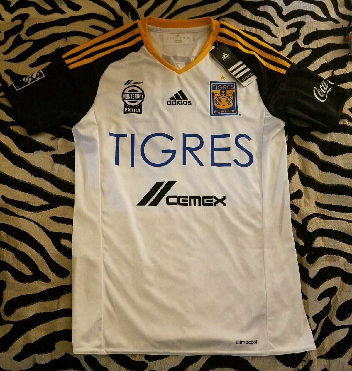 Tigres Uanl Originale Third Jersey 2016 Adidas Liga Mx  10 Gignac Numero