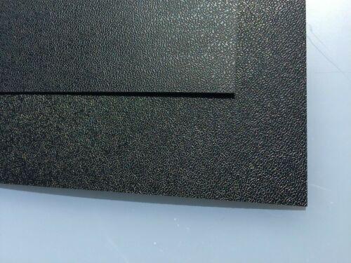 833mm x 625mm ABS Plastic Sheet 4mm Hot Rod // Custom. Textured Black