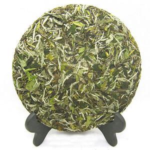 350g-Super-White-Tea-cake-Sessile-Silver-Needle-Tea-Pu-erh-Tea-China-Green-Food