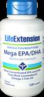 Life Extension Mega EPA DHA Softgels 120 Count